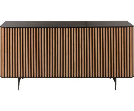 Design dressoir Linea met eikenhoutfineer