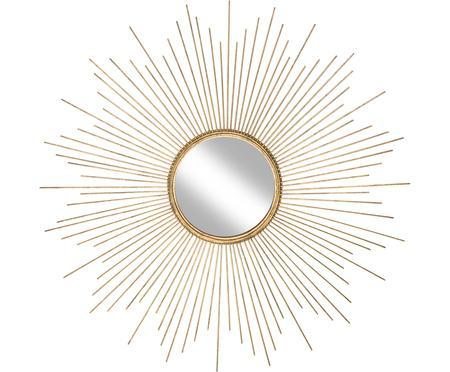 Runder Sonnenspiegel Ella in Gold