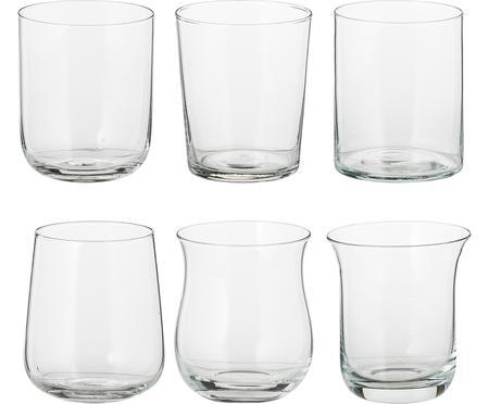 Ensemble de verres à eau soufflés bouche Desigual, 6élém.