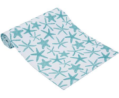 Chemin de table réversible imprimé marin, déperlant Starbone