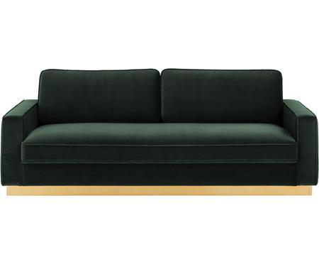Sofa z aksamitu Chelsea (3-osobowa)