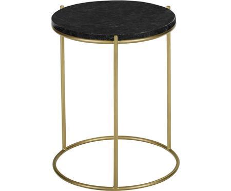 Tavolino rotondo in marmo Ella