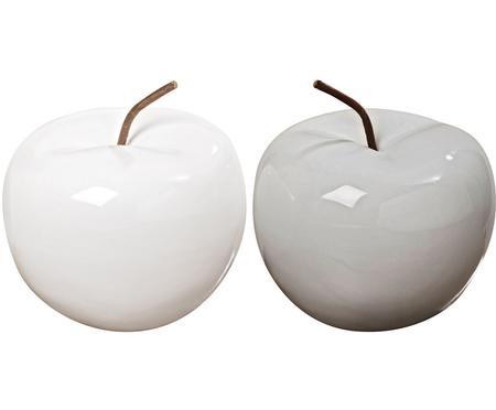 Deko-Äpfel Alvaro, 2 Stück