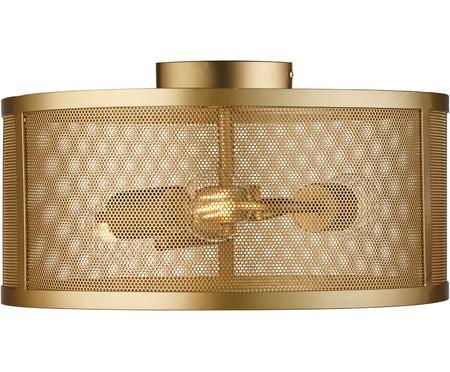 Plafonnier en métal doré Fishnet