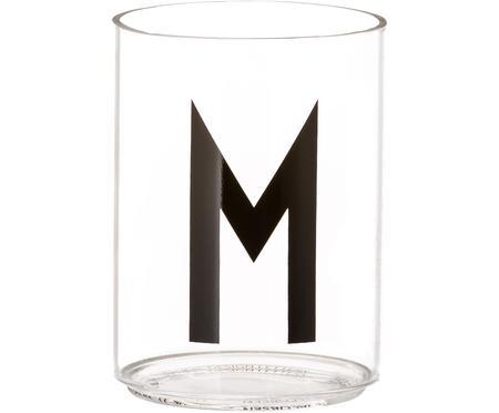 Design Wasserglas Personal mit Buchstaben (Varianten von A bis Z)