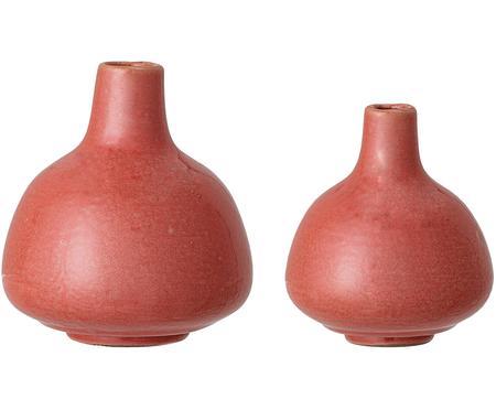 Komplet małych wazonów z kamionki Malina, 2 elem.