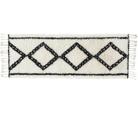 Alfombra artesanal de lana Talana, estilo boho