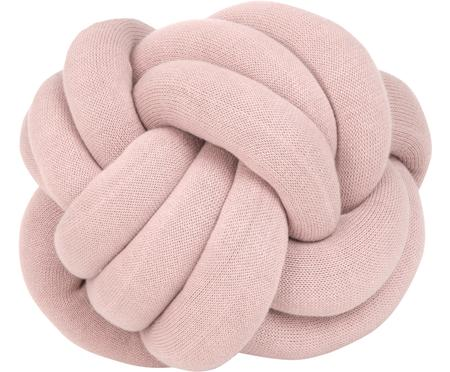 Knoten-Kissen Twist in Rosa