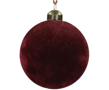Weihnachtskugeln Velvet, 4 Stück