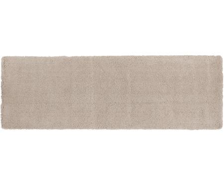Flauschiger Hochflor-Läufer Leighton in Beige