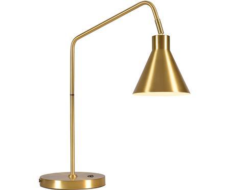 Lampe de bureau en métal doré Lyon