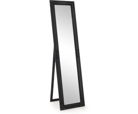 Standspiegel Miro mit schwarzem Rahmen