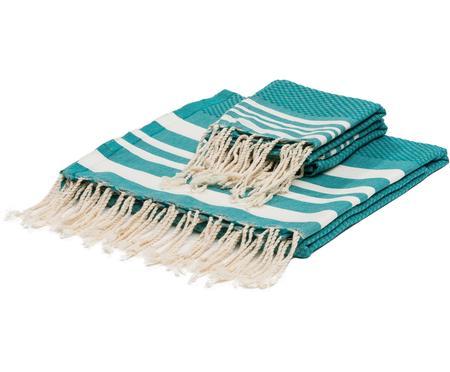 Komplet ręczników Hamptons, 3 elem.