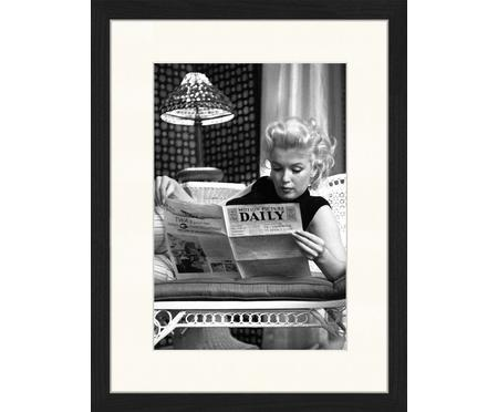 Gerahmter Digitaldruck Marilyn Monroe Reading