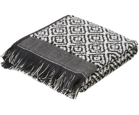 Handtuch Morocco mit Rautenmuster