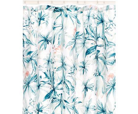 Douchegordijn Foglia met tropisch patroon