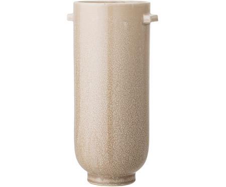 Handgefertigte Deko-Vase Lena aus Steingut