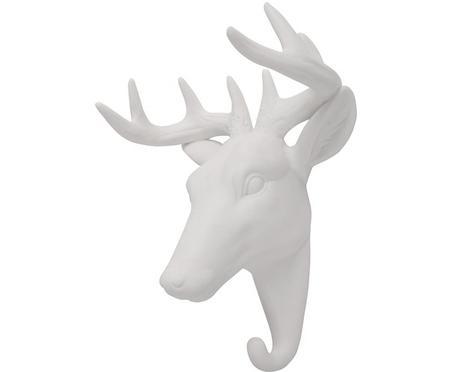 Gancio da parete in porcellana Deer