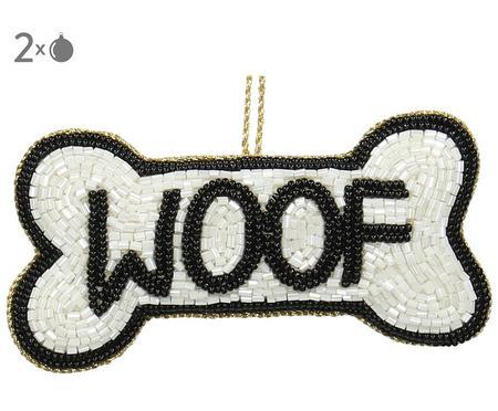 Baumanhänger Woof, 2 Stück