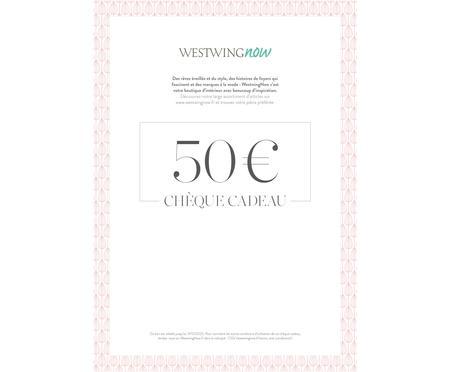 Chèque cadeau à imprimer 50 €