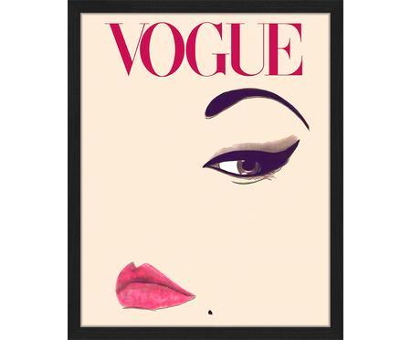 Gerahmter Digitaldruck Oh So LovelyObsessions Vogue