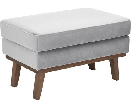 Poggiapiedi da divano in velluto Alva