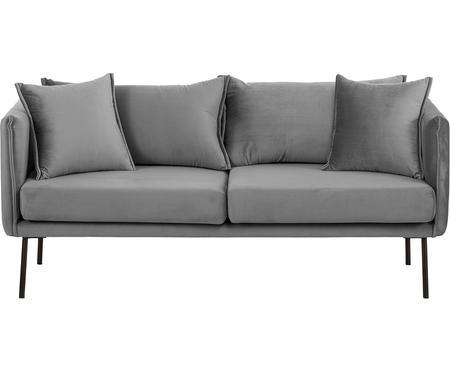 Sofa z aksamitu Ivy (2-osobowa)
