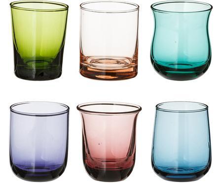 Ensemble de verres à schnaps soufflés bouche Desigual, 6élém.