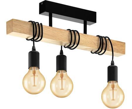 Lampada da soffitto in legno Townshend