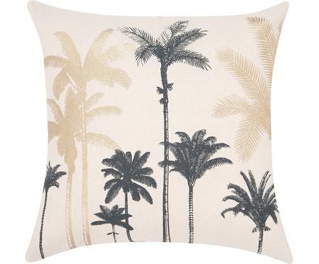 Kissenhülle Palmas mit Palmenprint