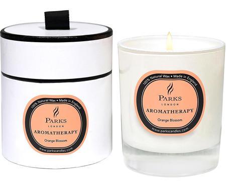 Duftkerze Aromatherapy (Orangenblüte)