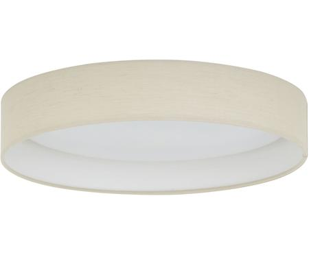 Plafonnier LED rond taupe Helen