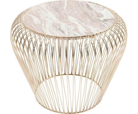 XS Beistelltisch Beam mit Marmor-Platte