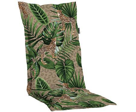 Hochlehner-Stuhlauflage Lenny mit tropischem Print