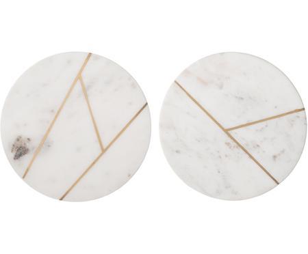 Marmorplatten-Set Marble, 2-tlg.