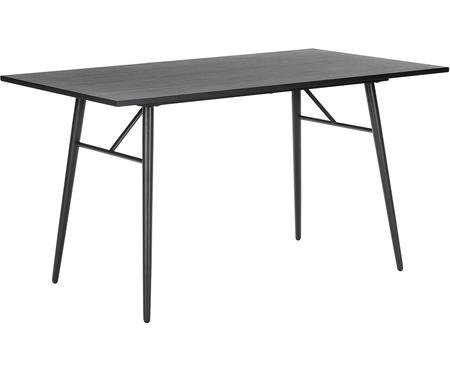 Stół do jadalni z drewna z metalową ramą Jette