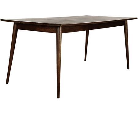 Stół do jadalni z litego drewna Oscar
