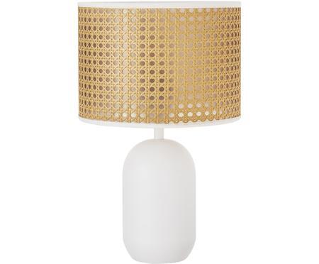 Tischlampe Vienna aus Wiener Geflecht