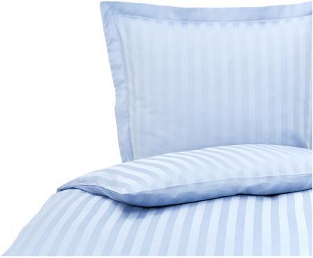 Satinstreifen-Bettwäsche Linea