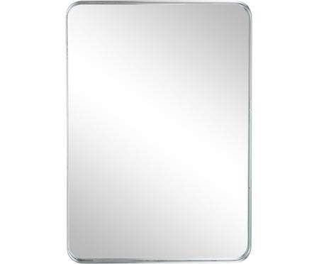 Wandspiegel Sile mit Metallrahmen in Silber