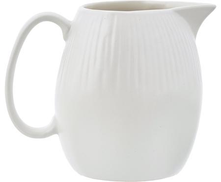 Handgemachtes Milchkännchen Sandvig mit leichtem Rillenrelief, 250 ml