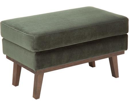 Sofa-Hocker Alva aus Samt