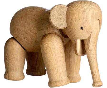 Designer-Deko-Objekt Elephant, Eichenholz