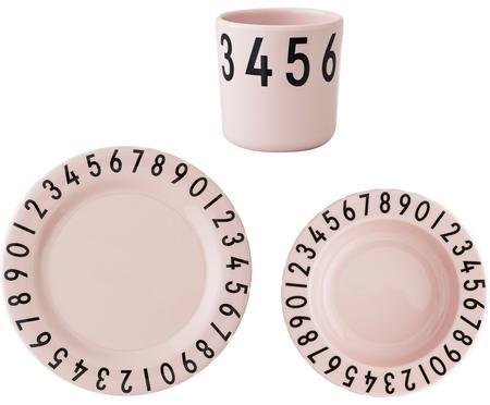 Komplet śniadaniowy Numbers, 3 elem.