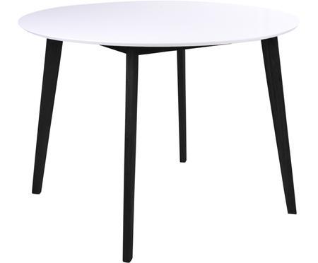 Table ronde avec plateau blanc Vojens