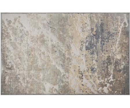 Viskose-Teppich Arroux mit Hoch-Tief-Effekt