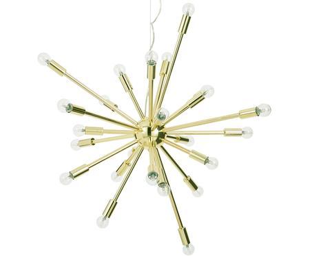 Grote hanglamp Spike goudkleurig