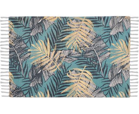 Teppich Longbeach mit tropischem Print