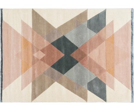 Handgetuft design vloerkleed Freya van wol