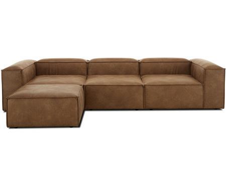 Sofa modułowa narożna ze skóry Lennon